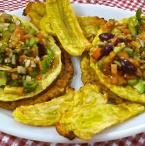 Taco de Arroz Integral y Huevo