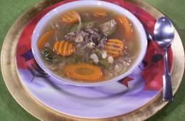 Sopa de Pollo Sanadora